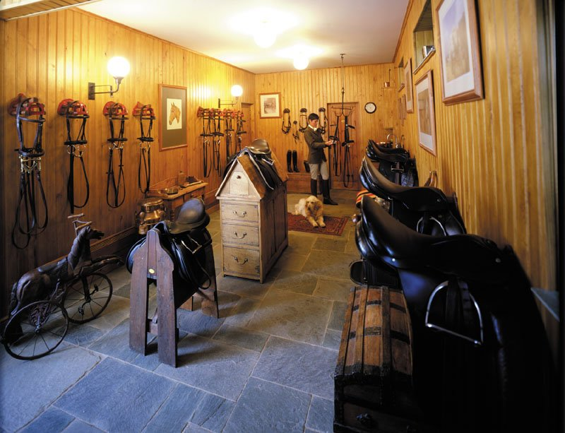 The Classic English Tack Room Home
